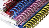 A4 4:1 Spiral Plastic Coil Binds 1