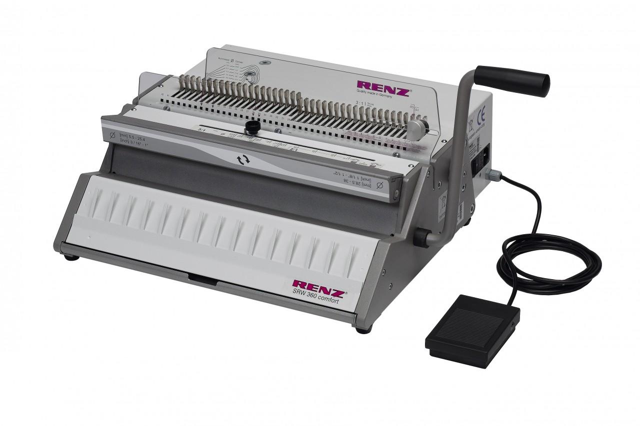 Renz SRW 360 Comfort Binding Machine