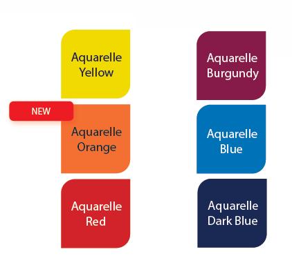 Renz Bindomatic® Aquarelle Thermal Binding Covers 6