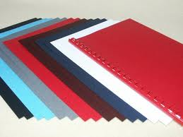 Leathergrain Embossed Binding Covers (250gsm)