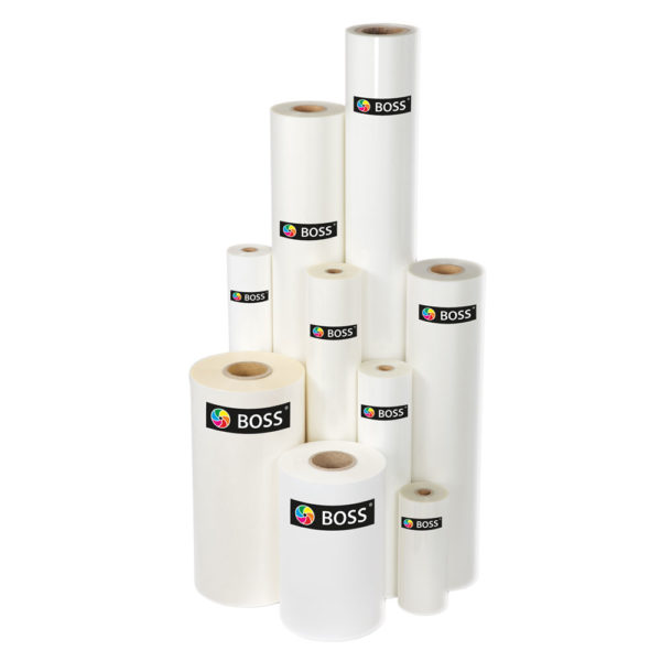 Boss laminating film rolls