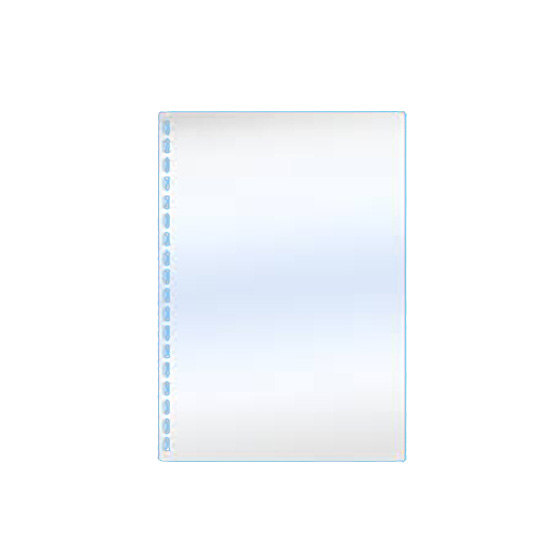 A4 Pre-Punched Clear PVC Binding Covers